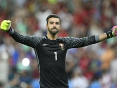Rui Patricio joined Wolves in the summer. AFP