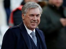 Ancelotti asegura que no habló con Klopp sobre el Liverpool-Atlético. AFP