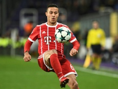 Thiago could be on the move. AFP