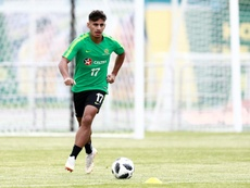 Daniel Arzani is currently on loan at Park head from English champions Manchester City.  AFP