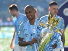 Un an de plus pour Fernandinho ? AFP