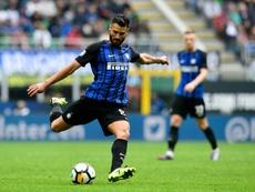 Candreva tem estado em destaque neste Inter de Milão. AFP
