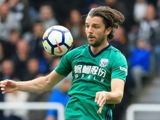 Jay Rodriguez scored one of Albion's seven goals. AFP