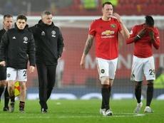 Manchester United se distancia da zona de classificação para a Champions League. AFP