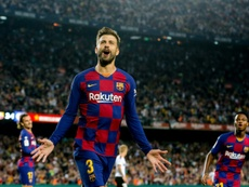 Gerard Piqué désamorce toute polémique avec Lionel Messi. AFP