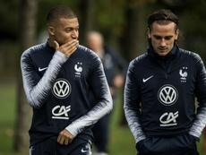 Guti veut voir Mbappé au Real Madrid et se moque de Griezmann. afp