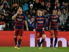 Neymar tacle lui aussi la direction du Barça. afp