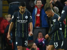 mahrez says his confidence won't be affected. AFP