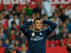 El último asalto al Pizjuán lo lideró Cristiano. AFP