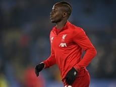 Mané tuvo una adaptación complicada en el Southampton. AFP