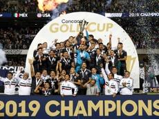 Le Mexique remporte une nouvelle fois la Gold Cup. AFP