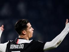 Cristiano Ronaldo n'est pas convoqué pour le déplacement à Bergame. AFP