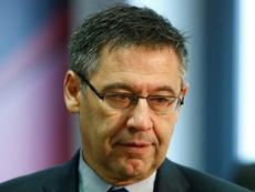 'SER': Bartomeu le escribió a Rubiales para quejarse del VAR. AFP