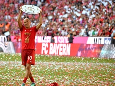 Robben acknowledged he misses football . AFP