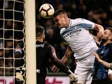 Manchester United está a negociar com Milinkovic-Savic. AFP