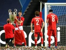 La UEFA estudia cambiar a la final a ocho. AFP