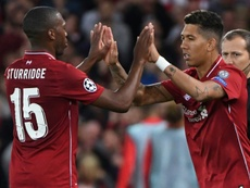 Firmino came on to bag the winner for Liverpool last night. AFP