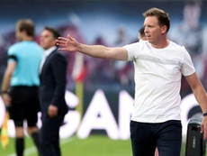 Julian Nagelsmann turned down Real Madrid in 2018. AFP