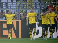 Borussia ganha de 4 a 0 e mostra suas garras. AFP