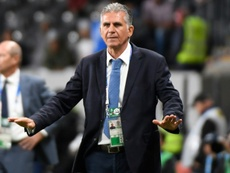 Queiroz will not be able to play Muriel for the rest of the tournament. AFP