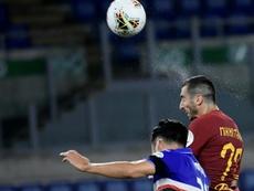 Le formazioni ufficiali di Roma-Verona. AFP