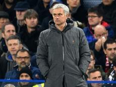 Manchester United Jose Mourinho. AFP