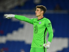 Kepa faced harsh criticism for his mistakes in the match. AFP