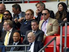 Elton John aseguró que el Watford le salvó la vida. AFP