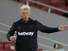 Los jugadores respaldan una renovación de Moyes. AFP