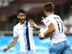 Le formazioni ufficiali di Lecce-Lazio. AFP