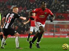 Raiola demande à se réunir avec Man United pour Pogba. AFP