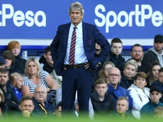 Pellegrini, in questions after his bad start with West Ham. EFE
