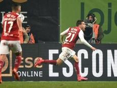 Horta y el COVID-19 apartan al Benfica de la final. AFP