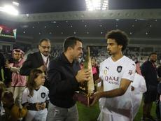 Xavi y su Al Sadd ya lideran en la Champions. AFP