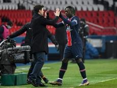 Paris Saint-Germain venceu por 2 a 1 o duelo contra o Olympique de Marselha. AFP