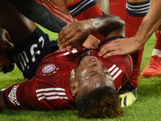 Coman se lesionó en la jornada 1 de la Bundesliga. AFP