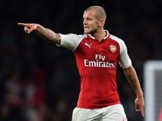 Wilshere apologised to Arsenal fans on Twitter. AFP