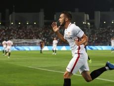 Gran rendimiento de Sarabia en Europa esta temporada. AFP