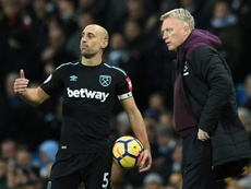 Zabaleta va quitter West Ham. AFP