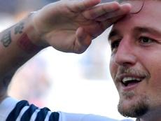 Sergej Milinkovic-Savic est le joueur le plus courtisé de la Lazio. AFP