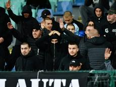 Berbatov criticó con dureza los hechos racistas de Bulgaria. AFP