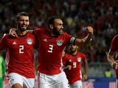 Egypt claimed the opening victory of the Africa Cup of Nations. AFP