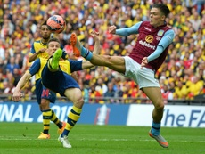 Grealish could pen a fresh deal with Villa. AFP