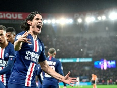 Benfica attend Cavani. afp