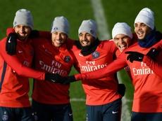 Lucas Moura évoque le PSG et Neymar. AFP