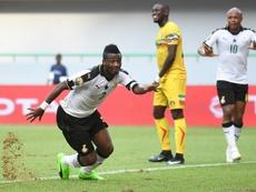 Asamoah Gyan se ha arruinado. AFP