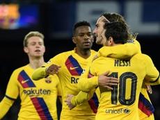 Le Barça s'en sort bien. AFP