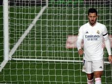 Le Real de nouveau inquiet pour Hazard. AFP