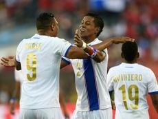 Panamá dejó el partido encarrilado en la primera mitad. AFP