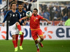 Deschamps to discuss penalties with Griezmann after latest miss. AFP